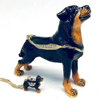 Kingspoint Designs Rottweiler Trinket Box