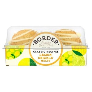 Border Biscuits Border Biscuits Lemon Drizzle Melts