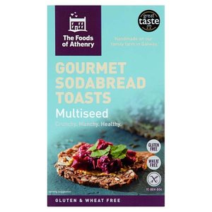 Foods of Athenry Sodabread Toasts Multiseed
