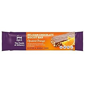 Foods of Athenry Belgian Chocolate Biscuit Bar - Opulent Orange