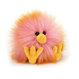 Jellycat Crazy Chick Pink & Orange Jellycat