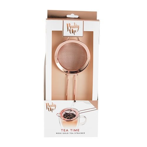 Pinky Up Pinky Up Rose Gold Tea Strainer