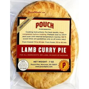 Pouch Pies Lamb Curry Pie