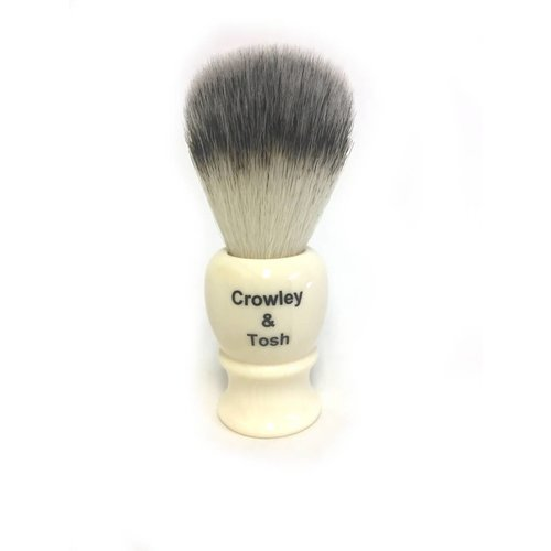 Crowley & Tosh Crowley & Tosh Synthetic Shave Brush Ivory