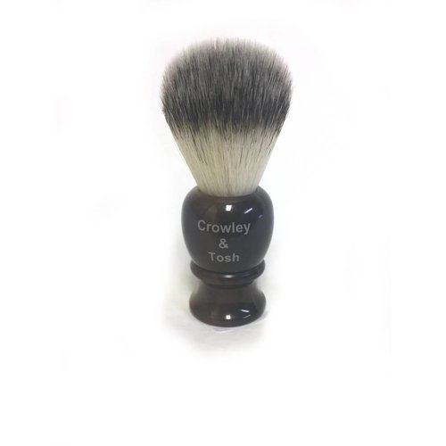 Crowley & Tosh nb15h Crowley & Tosh Horn Shave Brush Synthetic