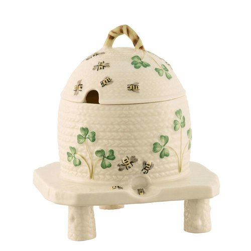 Belleek Belleek Honey Pot