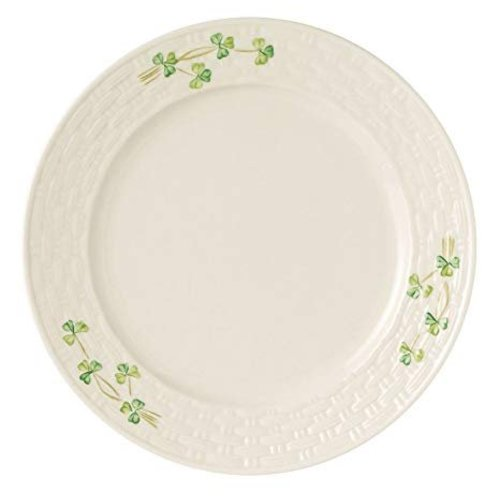 Belleek Belleek Shamrock Dinner Plate