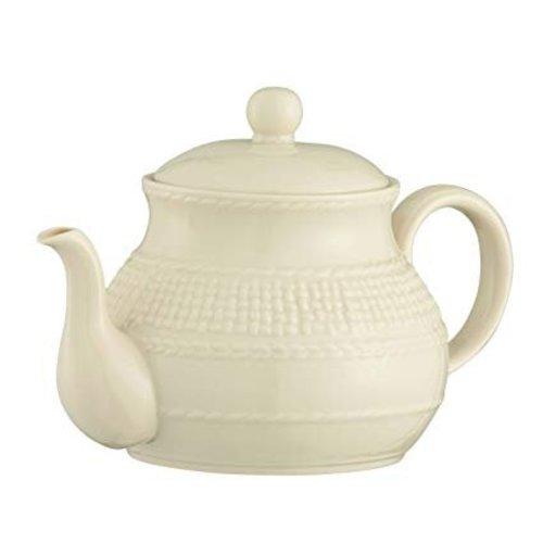 Belleek Belleek Galway Weave Beverage Pot 4087