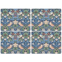 Pimpernel Strawberry Thief (Blue) Placemats