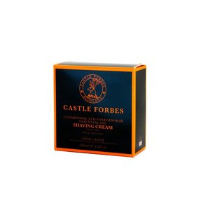 Castle Forbes Castle Forbes Cedarwood and Sandalwood Shaving Cream