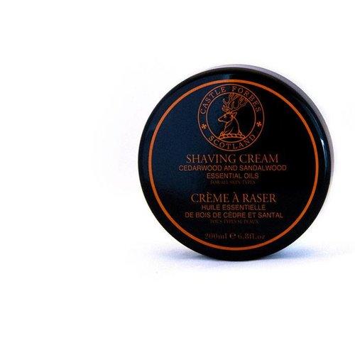 Castle Forbes Castle Forbes Cedarwood and Sandalwood Shaving Cream