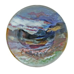 Highland Stoneware Highland Stoneware Large Geo Dish Sunset