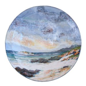 Highland Stoneware Highland Stoneware Presentation Bowl Seascape