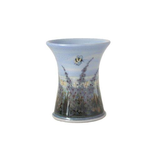 Highland Stoneware Highland Stoneware X-Small Cylinder Vase Heather