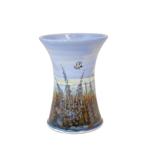 Highland Stoneware Highland Stonware Small Cylinder Vase Heather