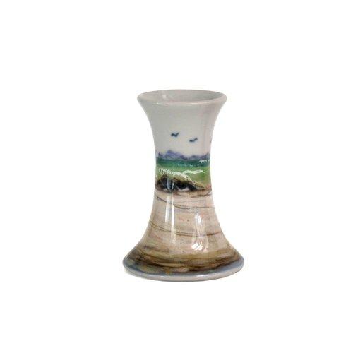 Highland Stoneware Highland Stoneware Bud Vase Seascape