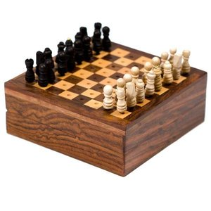 Mair Boomie Travel Chess Game