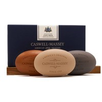 Caswell-Massey Sandalwood Explorer Triple-Milled Soaps