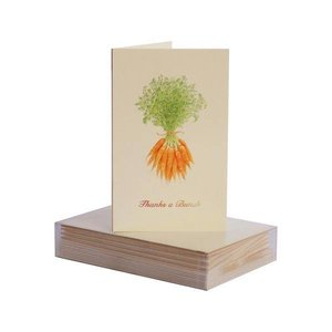 Paula Skene Paula Skene Carrot Bunch Mini Note Cards