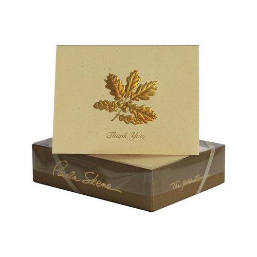 Paula Skene Paula Skene Mini Oakcluster Gold/Sunset Boxed Cards