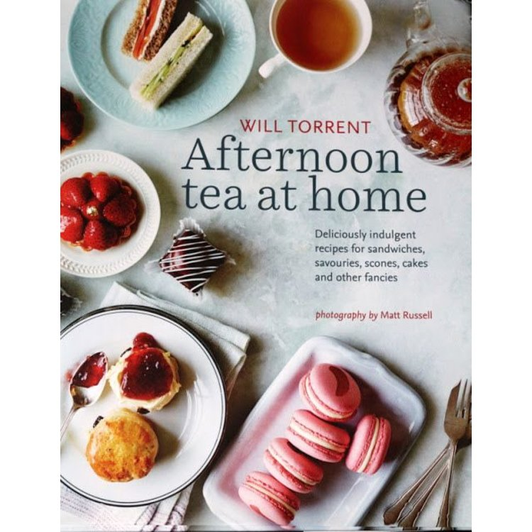 Afternoon Tea at Home Hardcover Book