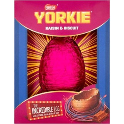 Nestle Yorkie Raisin Biscuit Incredible Egg