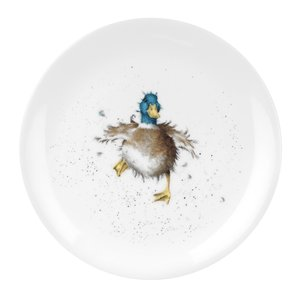 """Wrendale Wrendale Waddle Quack Plate 8"""""""