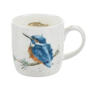 Wrendale Wrendale Kingfisher Mug 11oz