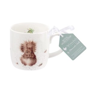 Wrendale Wrendale Treetops Redhead Squirrel Mug