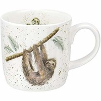 Wrendale Hanging Around Small Sloth Mug