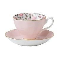 Royal Albert Rose Confetti Teacup & Saucer Set