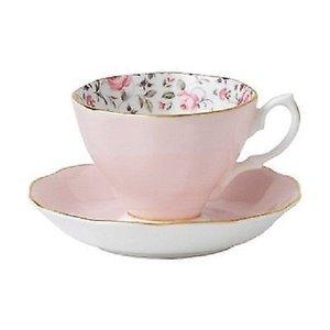 Royal Albert Royal Albert Rose Confetti Teacup & Saucer Set