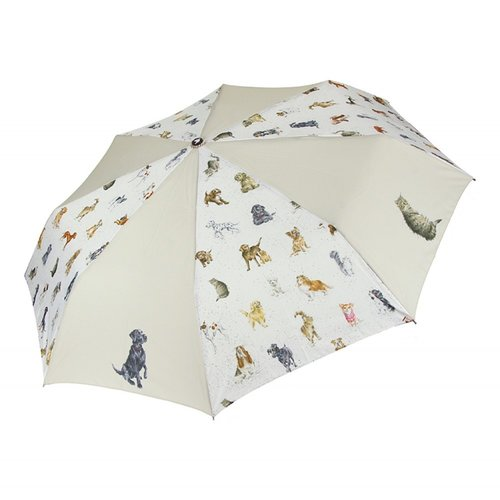 Wrendale Wrendale Designs It's Raining Cats and Dogs Umbrella