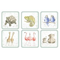 Wrendale Zoological Coasters