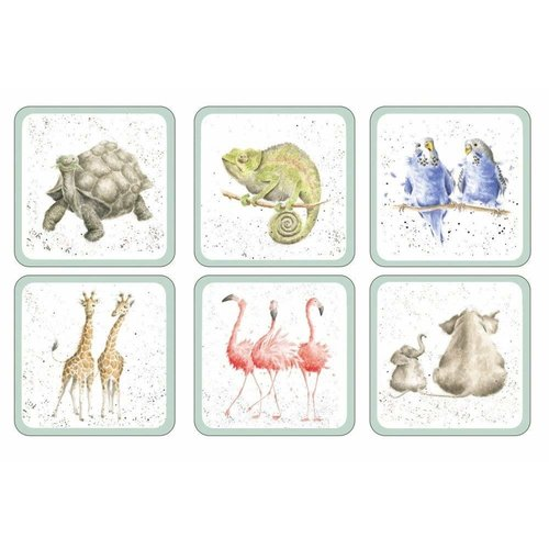 Wrendale Wrendale Zoological Coasters