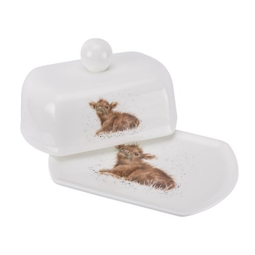 Wrendale Wrendale Butter Dish Wee Harrish