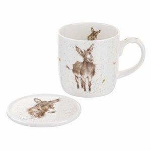 Wrendale Wrendale Gentle Jack Donkey Mug & Coaster