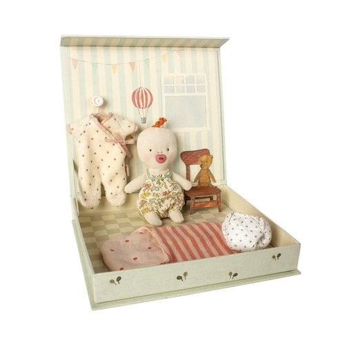 Maileg Maileg Ginger Baby Room Play Set