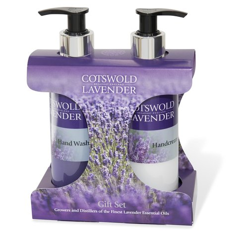 Cotswold Lavender Cotswold Lavender Hand Wash & Hand Cream Gift Set