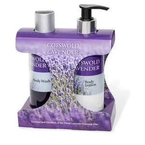 Cotswold Lavender Cotswold Lavender Body Wash & Body Lotion Gift Set