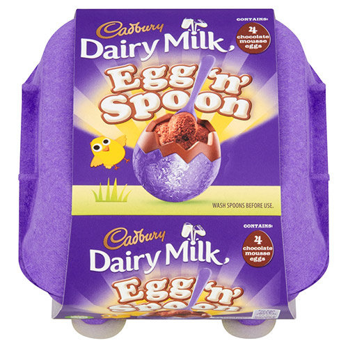 Cadbury Cadbury Egg & Spoon Double Chocolate 4pack