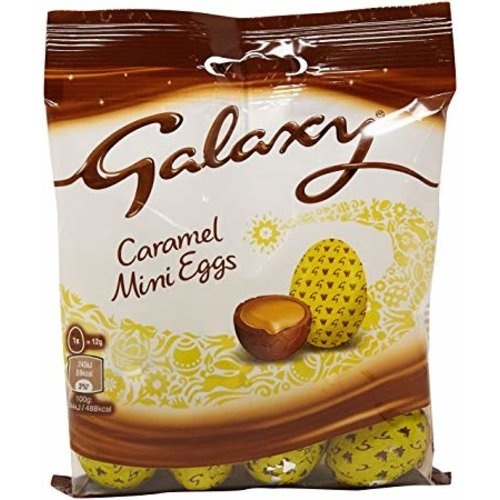 Galaxy Galaxy Caramel Mini Eggs Bag