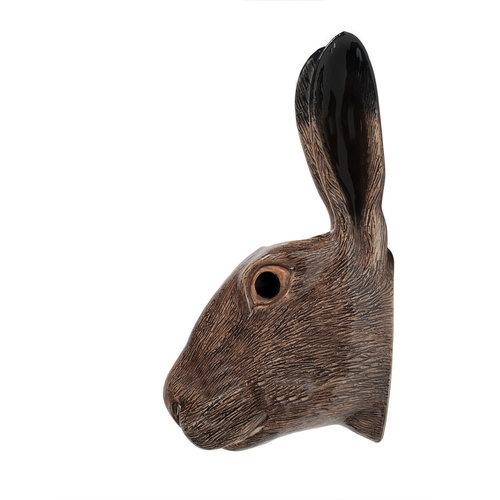 Quail Ceramics Quail Hare Wall Vase