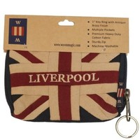 Woven Magic Union Jack Liverpool Coin Purse