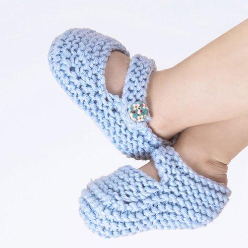 Stitch & Story Stitch & Story Bonny Booties Knitting Kit