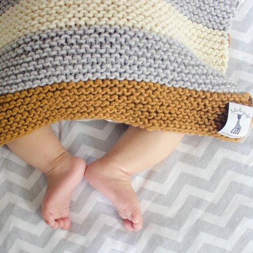 Stitch & Story Stitch & Story Sleepy Baby Blanket Knitting Set