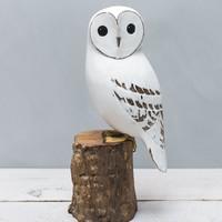 Large White Owl