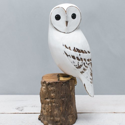 Aviologie Large White Owl