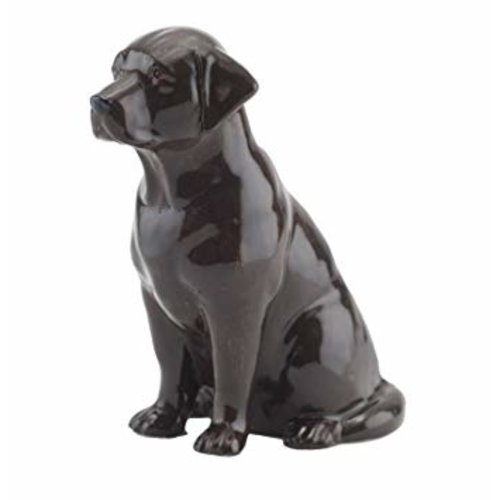 Quail Ceramics Quail Chocolate Lab Figurine