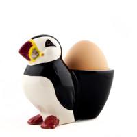 Quail Puffin Egg Cup